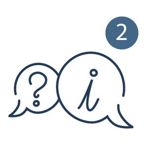 Answer questions directly through Meet2Talk